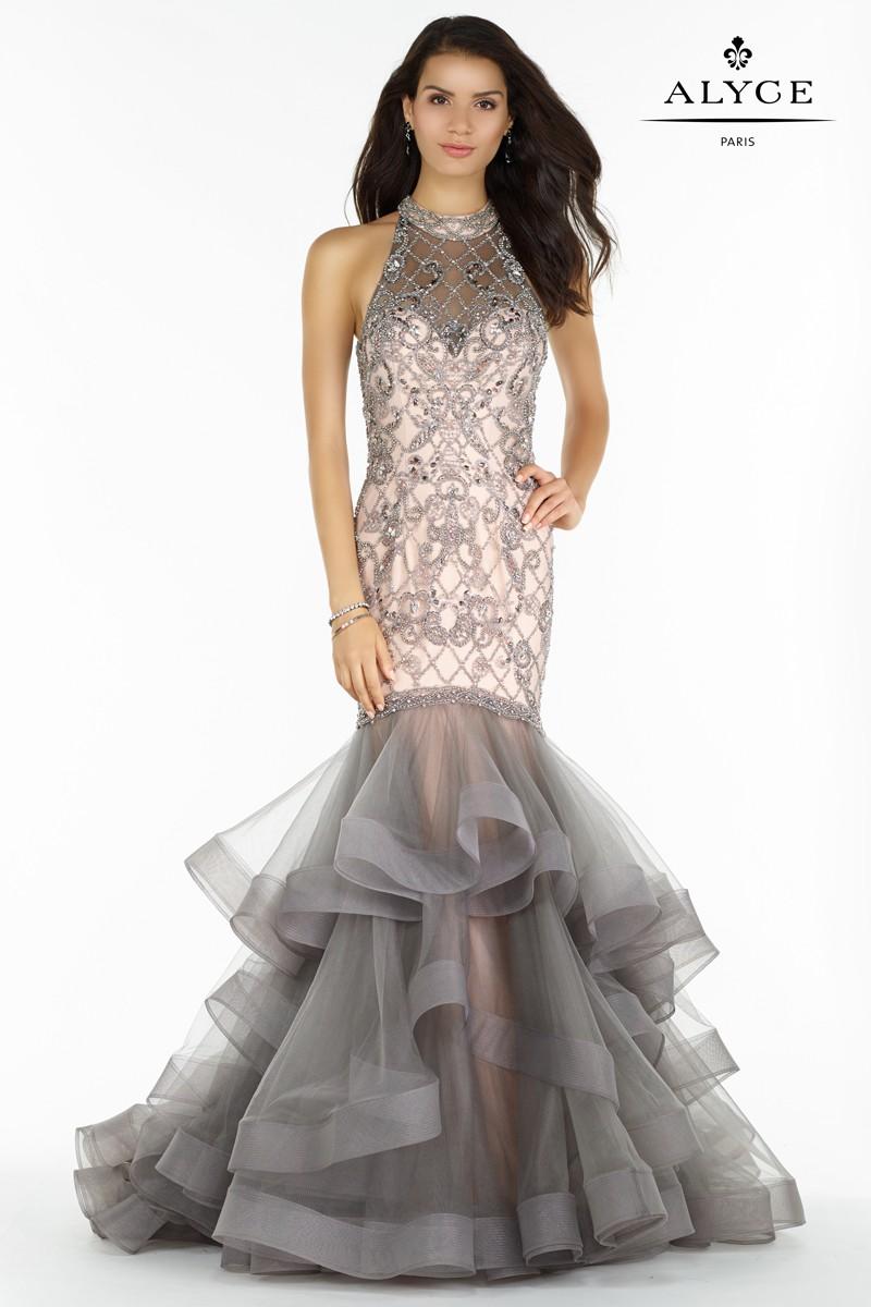 Keyhole Prom Dress
