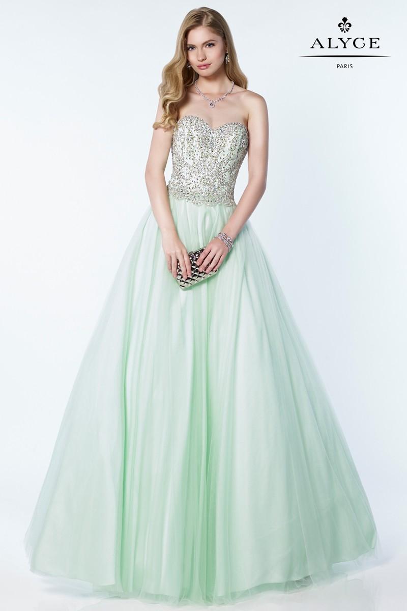 Alyce Paris Ball Gown Ice AP 1228 - BU Boutique